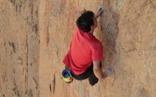 特辑 勇气做翼助力岩壁攀登