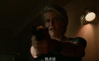 《终结者:黑暗命运》阿诺饰演老年T800 未来女战士强化升级