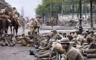 战争纪录片《他们已不再变老》定档预告