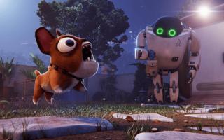 合家欢电影《未来机器城》,小狗馍馍深受大家喜爱