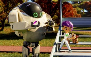 动画电影《未来机器城》今日全国首映