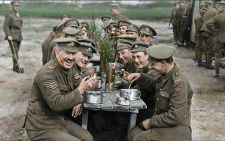 《他们已不再变老》重现大战当前 军人们面临的残酷战场