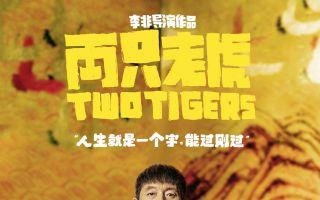 《两只老虎》发布全员被绑从容面对海报