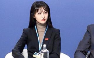郑爽联合国演讲,身着职业装谈气候变化问题