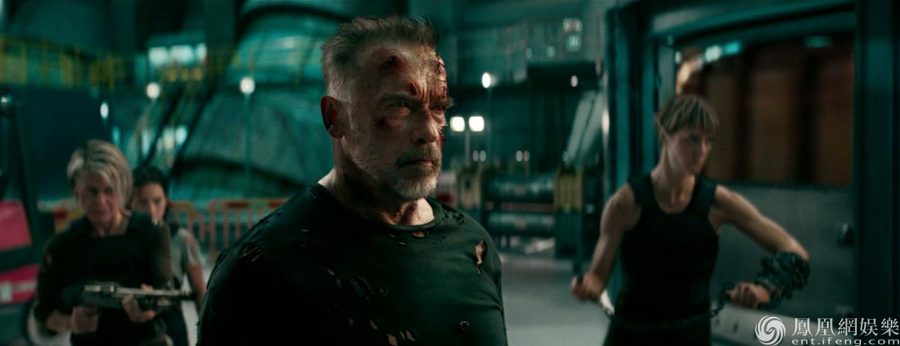 《终结者:黑暗命运》新预告 汉密尔顿施瓦辛格终极对决