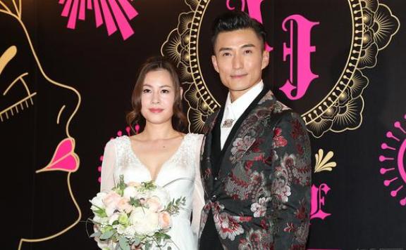 46岁陈山聪昨日举行婚礼 女友Apple是圈外人