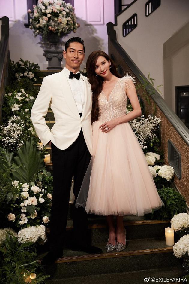 林志玲老公婚后发文感谢祝福 曝选择婚礼场地原因