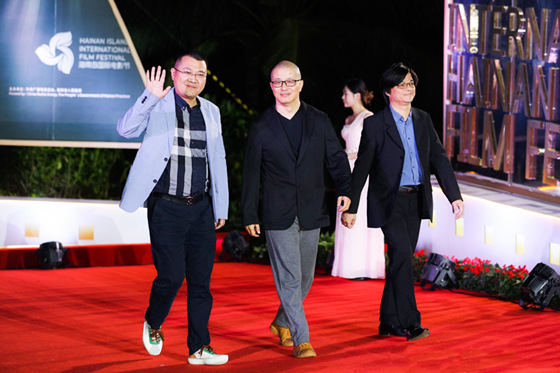 导演刘浩迅视影业携电影《诗人》亮相海南国际电影节