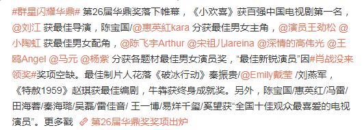 杨紫凭《亲爱的》5度获奖,拿华鼎奖却引争议,热巴再被比较