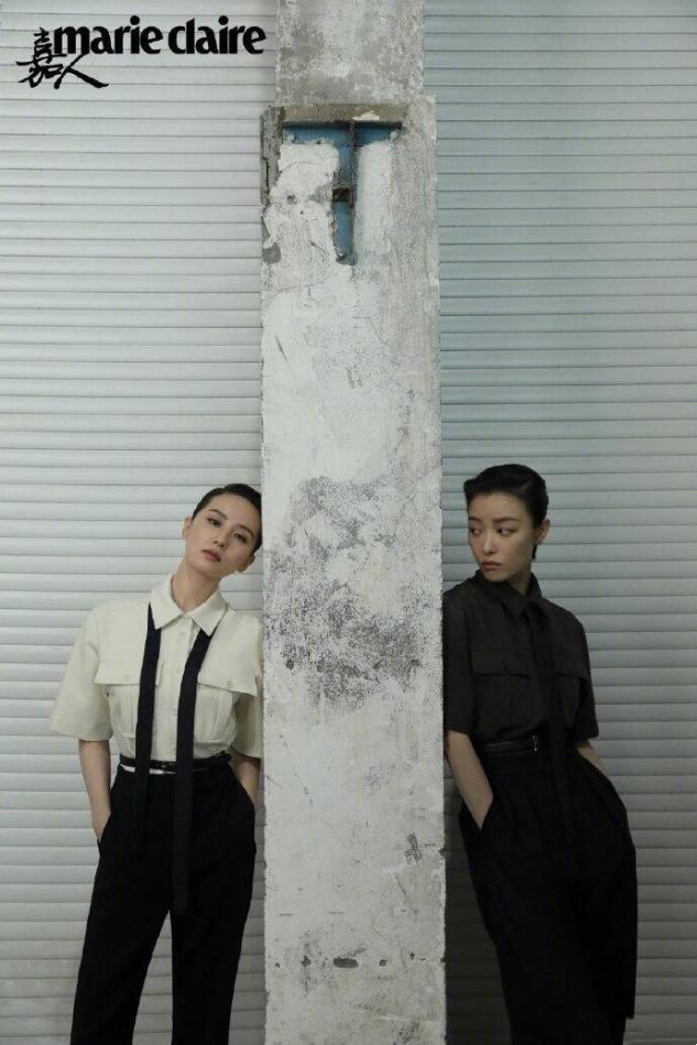 倪妮和刘诗诗同登杂志封面,网友:这气质差距完全不在一个调上
