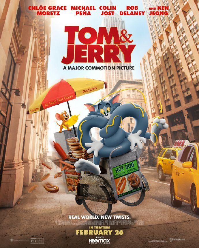 《猫和老鼠》曝最新海报 杰瑞花式欺负汤姆喜感十足