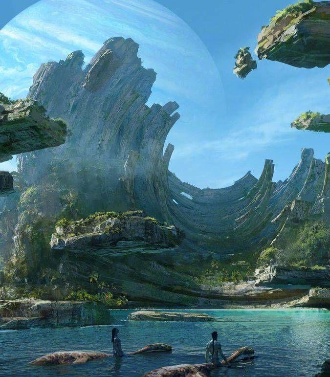 《阿凡达2》曝光全新概念图