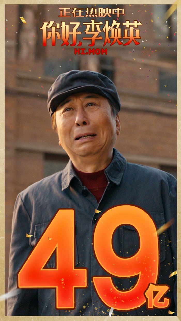 上映20天,贾玲《你好,李焕英》票房破49亿