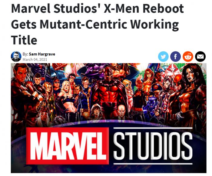 《X战警》加入漫威宇宙?新片续集正由漫威开发中