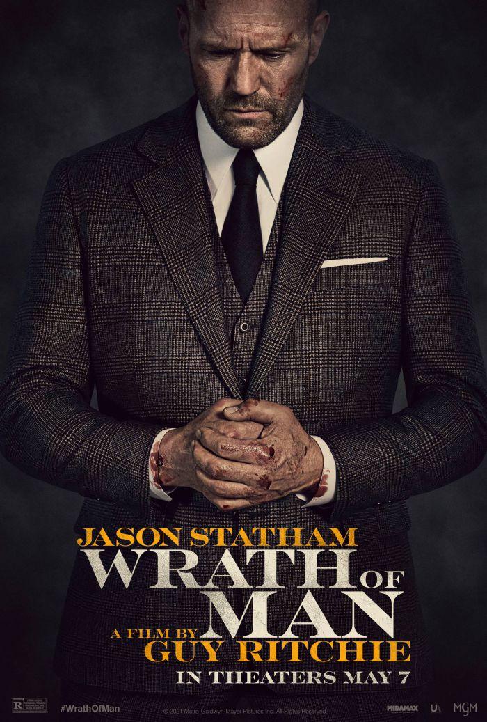 杰森斯坦森新片《人之怒》发布首款海报