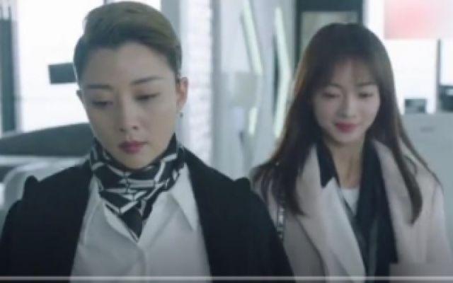 青春:殷桃大背头黑西装,走路自带女王范,霸气向刘敏涛宣战