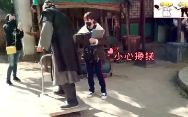 《欢乐英雄》花絮,王动少侠带你飙车