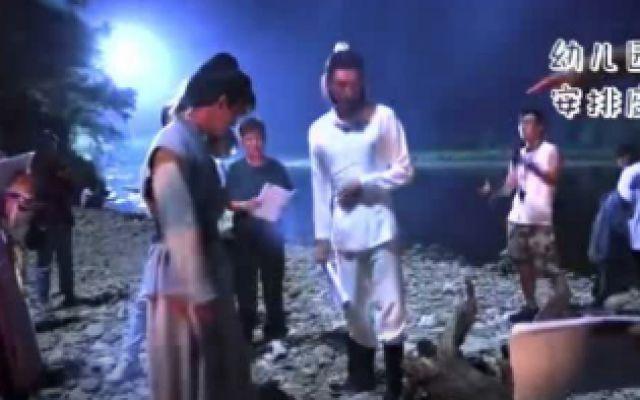 《山河令》花絮:张哲瀚和龚俊在片场抢座位,两个人太好笑了!